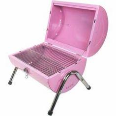 Pink BBQ Grill!
