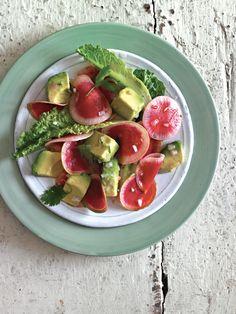 radishes, watermelon radish, food, avocado vinaigrett, recip, salads, radish salad, watermelons, vinaigrette