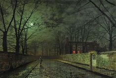 Atkinson Grimshaw Exhibition at the Guildhall Art Gallery January 7th 2012