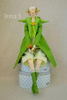 Куклы Тильды ручной работы. Ярмарка Мастеров - ручная работа Green Angel. Handmade.
