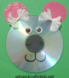 Easy bear crafts for kids cd crafts easy crafts ideas for kids craft