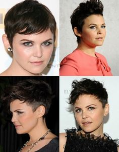This is the cut/style I based my most recent haircut on... mine's just a bit more short in the back/sides. I'm contemplating extensions but keeping it shaved on the sides/back...