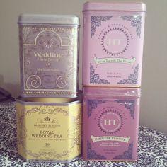 Harney & Sons tea tins