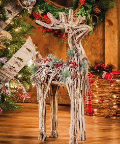 Take a look at this Jingle Bell Deer Figure by Evergreen on #zulily today!