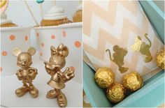 Disney Mickey and Minnie Party Decor and Favors Inflightideas.blogspot.com