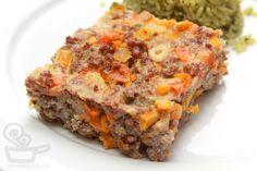fritada de carne colorida