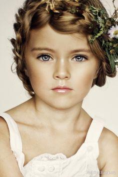 Kristina  Pimenova (russian model) what a beautiful little girl