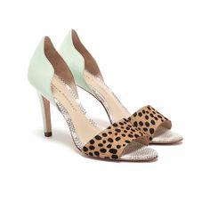 mint & cheetah d'orsay pump // loeffler randall
