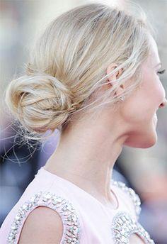 Anna Camp  | Brides.com wedding hairstyles, celebrity weddings