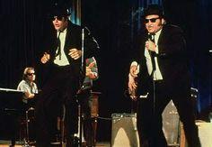 Dan Aykroyd and John Belushi-'Blues Brothers'