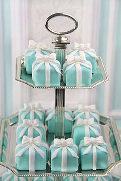 Tiffany & Co. Box Cakes! pretty