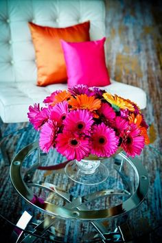 orang, kitchen colors, wedding colors, floral designs, summer colors, bold colors, bright colours, color photography, beauti flower