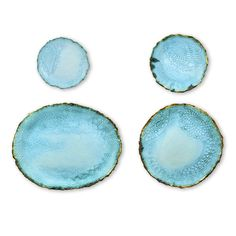 Set of Turquoise Ceramic Dishes - LoveFeast Shop