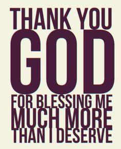 Blessings...So True!