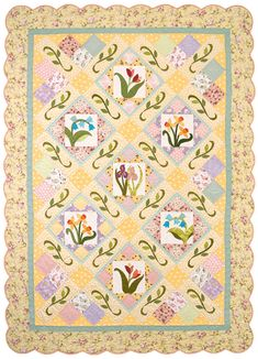 Martingale - Spring Is Sprung Quilt ePattern by Julie Popa