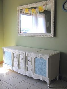 Stereo Cabinet Makeover