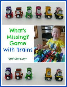 What's Missing? Game with Trains from Craftulate