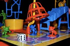Mousetrap game.