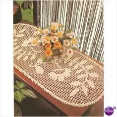 Crochet Doily Pattern Flowers On A Vine