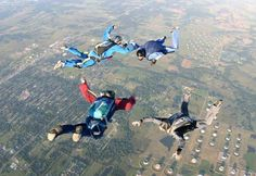 Experience the adrenaline rush of skydiving on your next Oklahoma getaway!