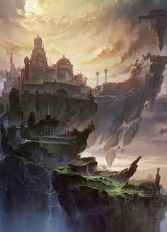 MING FAN | Fantasy castle