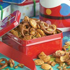 Sensational Snack Mixes  | Munch & Crunch Snack Mix | MyRecipes.com