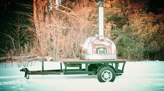 Le Panyol / Mobile Oven / Wood Fired Oven / Maine Wood Heat Company