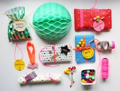 Gift wrap inspiration from Minimega