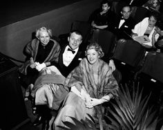 Audience members at the NBC International Theatre, 25h Academy Awards ceremony, 1953. Photo by NBC/NBCU Photo Bank/Getty.