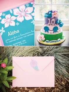Hawaiian Luau Inspired Birthday Party