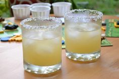Fresh Margaritas on the Rocks (via Rocotillo) - this is the real deal - no triple sec or simple syrup!