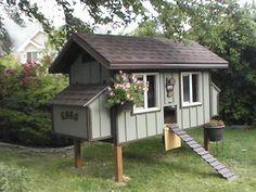Really cute chicken coop designs/floorplans