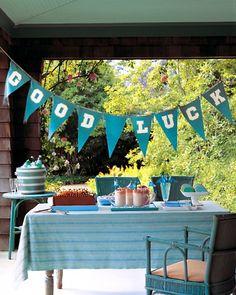 Graduation Party Banner   Martha Stewart