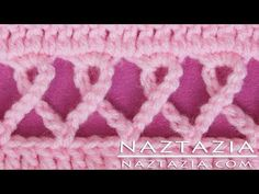 DIY Crochet Pink Awareness Ribbon Scarf Prayer Shawl Wrap Blanket for Breast Cancer / Other Causes - YouTube
