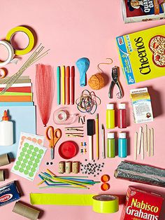 8 Crafts From Household Items: Craft Lab (via Parents.com)