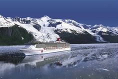 Alaska - from a cruise ship!  Sounds like a great vacation to me ;0)