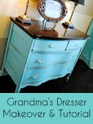 Dresser(and she purposely did not use primer). Grest tutorial