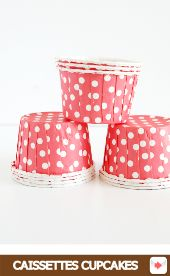caissettes à cupcakes rouge #red #rouge #circus #cirque #party #birthday #sweettables #anniversaire #partyideas