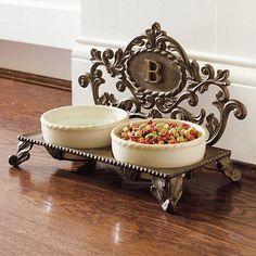 Personalized Decorative Baroque Pet Feeder