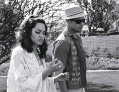 Angelina Jolie & Brad Pitt: Domestic Bliss - W by Steven Klein, July 2005