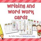 These cards are great to add to your word work center or your writing center. Students can practice writing the words with play-doh, magnetic lette...