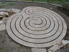 The Native American labyrinth is known as a Medicine Wheel or Man in the Maze. The Never Ending Circle is the Celtic version. The labyrinth at Chartres Cathedral in France, built in 1201, is probably the most famous labyrinth. It was constructed of inlaid mosaic stones set in the floor of the chapel.