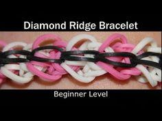 Rainbow Loom® Diamond Ridge Bracelet