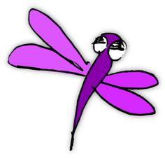 free scrap dragonfly png – digital scrapbooking embellishment