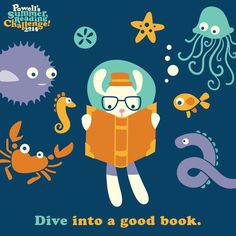 Summer reading goal for the week: immerse yourself in a great book!