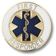 First Responder Emblem Pin