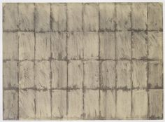 """Brice Marden, """"Untitled"""" (1964)   drawing   charcoal and graphite on paper    Source: http://www.sfmoma.org/explore/collection/artwork/1243#ixzz1jCDu34dn   San Francisco Museum of Modern Art"""