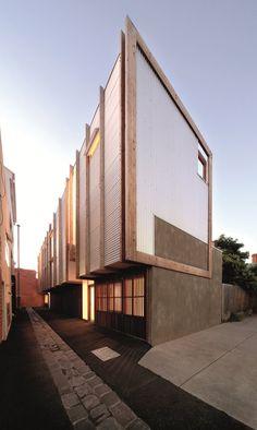 *modern architecture* - Yan Lane, Victoria, 2010, Justin Mallia
