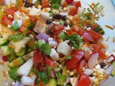 jicama rainbow, weight loss, food, rainbows, mint, drink recip, gluten free, crochet patterns, rainbow salad