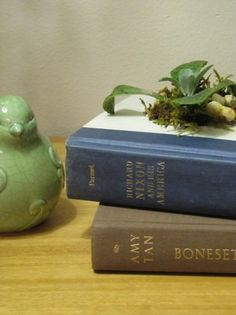 Old Book DIY Planter